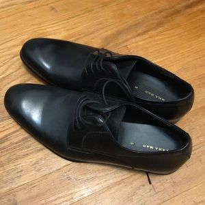 Zara leather shoes.